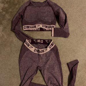 Gymshark Women's Flex Leggings and Crop Top